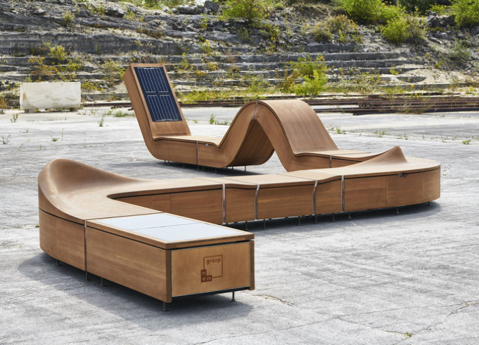 Smart Public Furniture - cool & sustainable