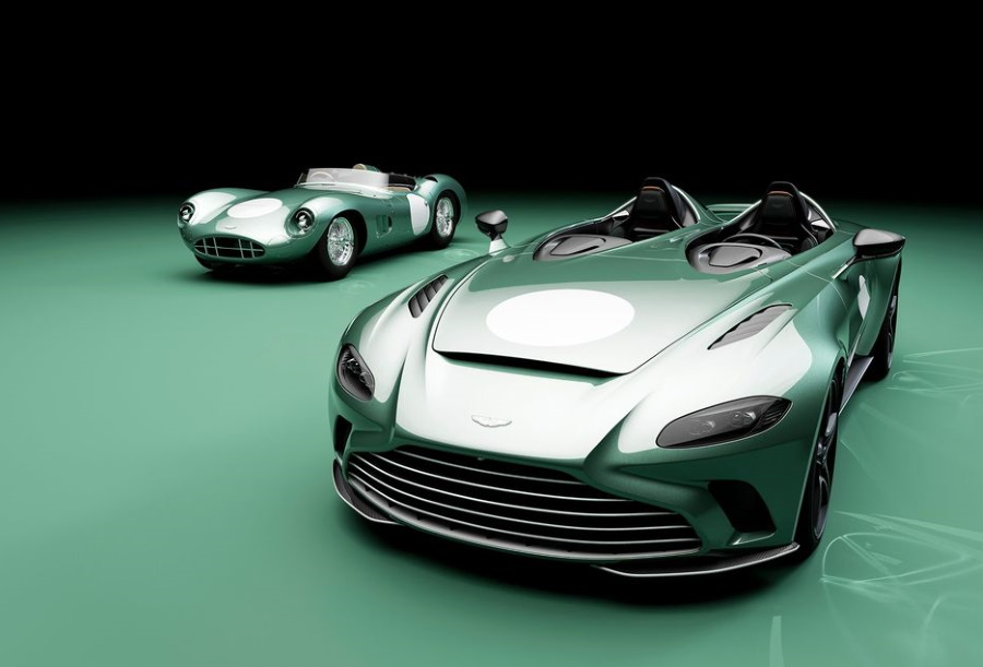 Presenting the V12 Speedster DBR1 Specification from Q by Aston Martin, a special designer edition of our new purist driving machine