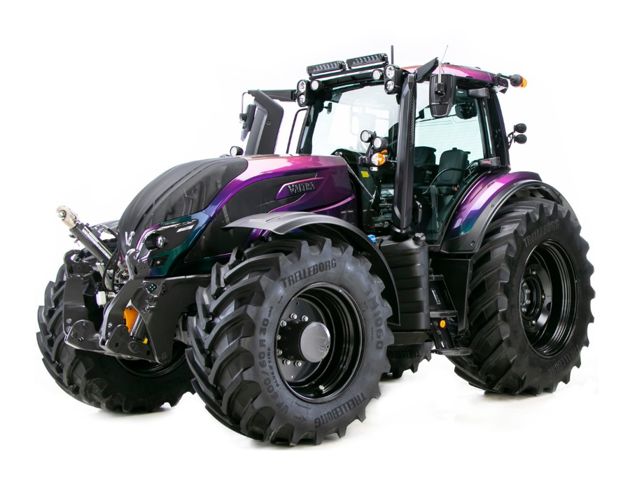 If you wish to have a tractor that is as unique as you are, Valtra Unlimited is the way to go.